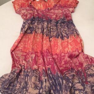 Cute Options Dresses - 🦊 Cute Options retro like gauze dress. V neck